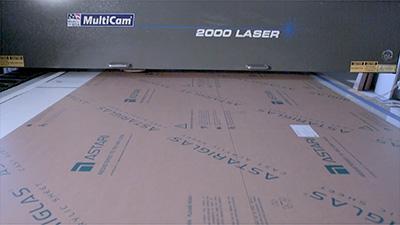 Multicam CNC Laser